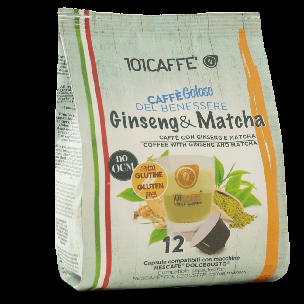 Ginseng Matcha Per Nescafe Dolcegusto 101caffe